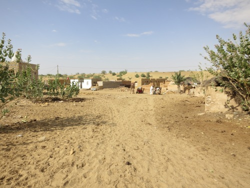 A small village where we stopped to buy some food for the camels