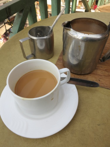 The king of beverages on the streets of India is clearly that of Chai Tea, a brew made from crushed black tea leaves that is then often flavored with ginger and cardamom and always heavily doctored with piles of sugar and lakes of cream