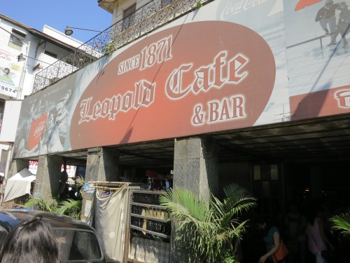 Fans of Gregory David Robert's sprawling novel Shantaram will quickly recognize Leopold's Café, a common setting throughout the novel