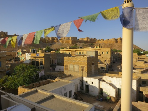 The town of Jaisalmer, the embarkation point for most of the camel tours in the area