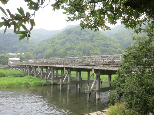The famed Togetsukyo Bridge
