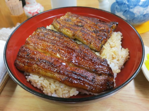 Ahhhh yesssss...Unagi (Eel).  Even though the prices of eel are at an all-time high, I still had to indulge at least once