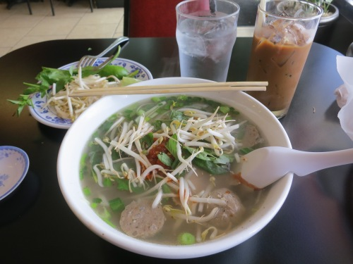 A glimpse back at my time in Vietnam with a bowl of Pho Tai Bo Vien