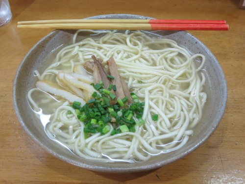 Although it is found all over Okinawa, Soki Soba still makes for the perfect lunch or midday snack