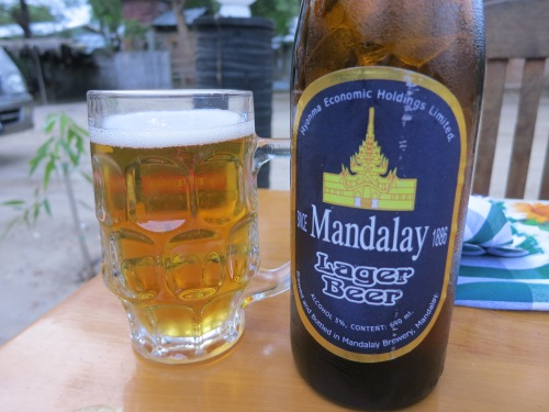 Mandalay is the slightly smoother and lower alcohol cousin to Myanmar Beer
