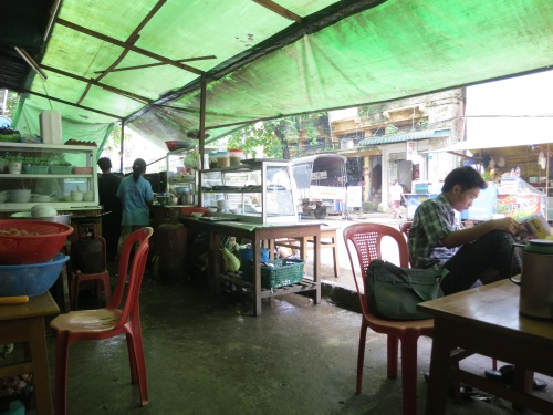 Whenever the rains would hit, the best course of action would be to simply pop into the closest tea house, order up a cup and perhaps a bowl of noodles, and wait it out