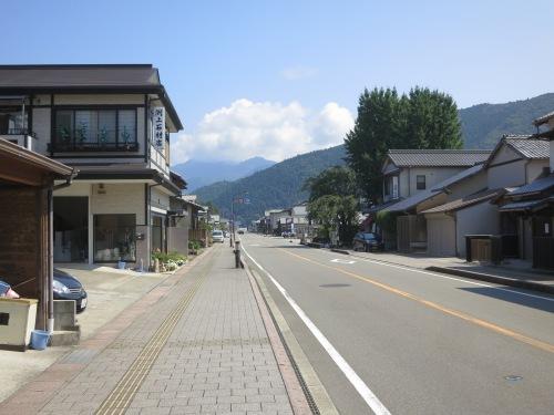 The streets of Hongu