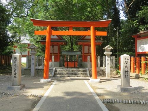 The entrance to the Kumano Hayatama Taisha