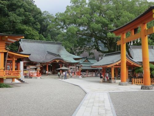 The grounds of the Kumano Nachi Taisha
