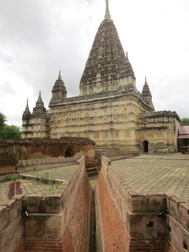 The Maha-Bodi Pagoda, the only Hindu temple amongst the thousands of Buddhist temples