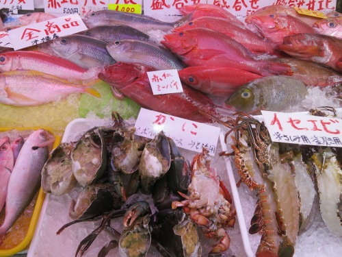 "Don't worry, I didn't eat any more ""Still-living"" fish while in Okinawa – the one time in Kyoto was enough for me"