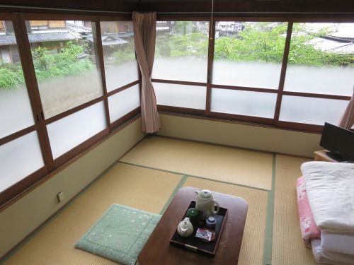 As expected, virtually all of the accommodation here comes in the form of Japanese-style rooms with tatami mat floors and low tables