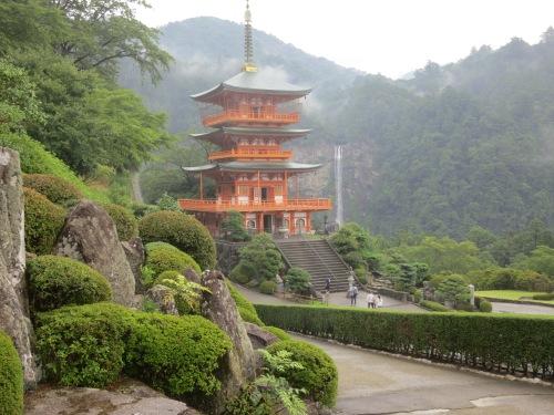 Pagoda and Waterfall 15 - Close