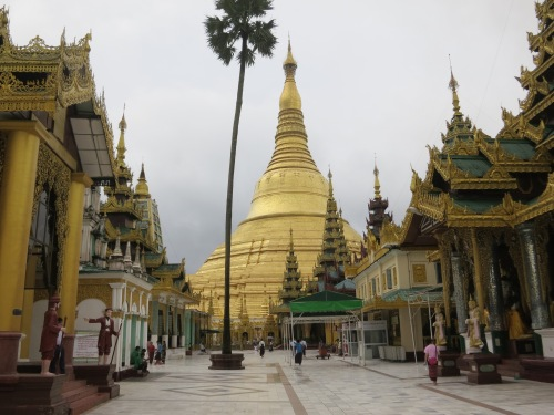 Shwe Dagon Paya 56 - North Entrance