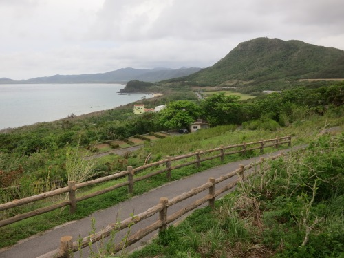 The view of Ishigaki Island from the Tamatorizaki Viewing Platform