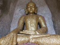 That-byin-hyu Temple 3 - Gold Flake Buddha