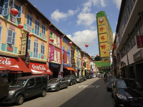 The colorful streets of Chinatown