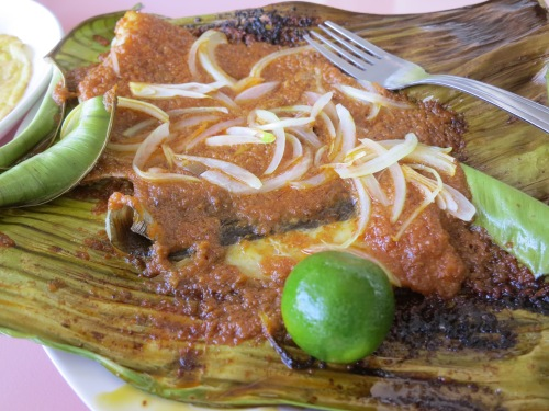 Sambal Stingray -- a new one for me, but that I'm fell in love with immediately