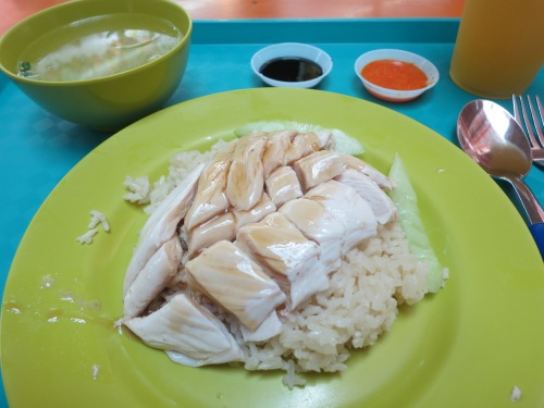 It's hard to start a culinary tour in Singapore with anything other than Chicken Rice